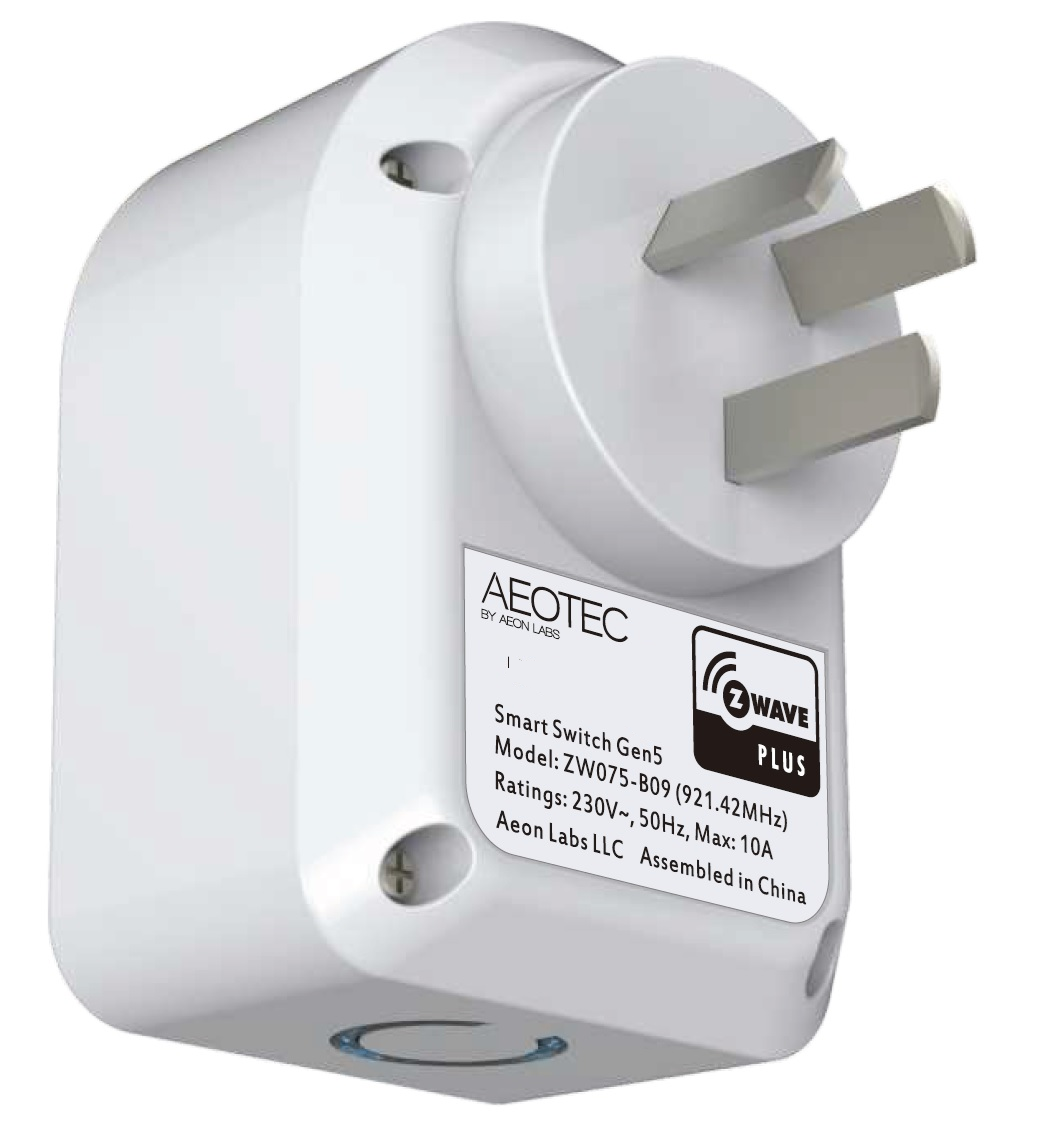 Aeotec Smart Plug Home Automation New Zealand. Active Automation
