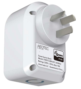 Picture of Aeotec Gen5 Smart Switch Plug (End of line Replaced by Smart switch 6)