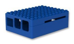 Picture of Pi-Blox Enclosure, Blue