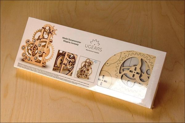 Picture of Ugears - The Intriguing Mini Geneva Drive (Dynamometer)