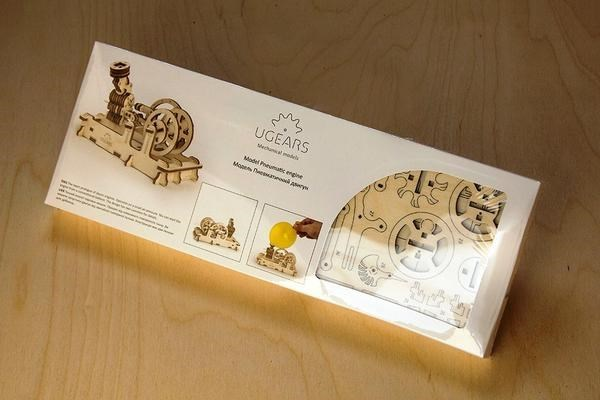 Picture of Ugears - Pneumatic Engine