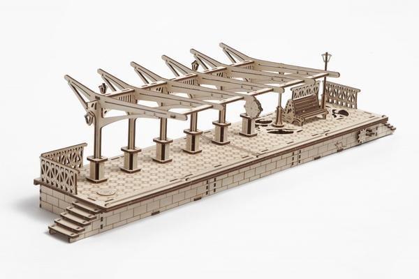 Picture of Ugears - Railway Platform