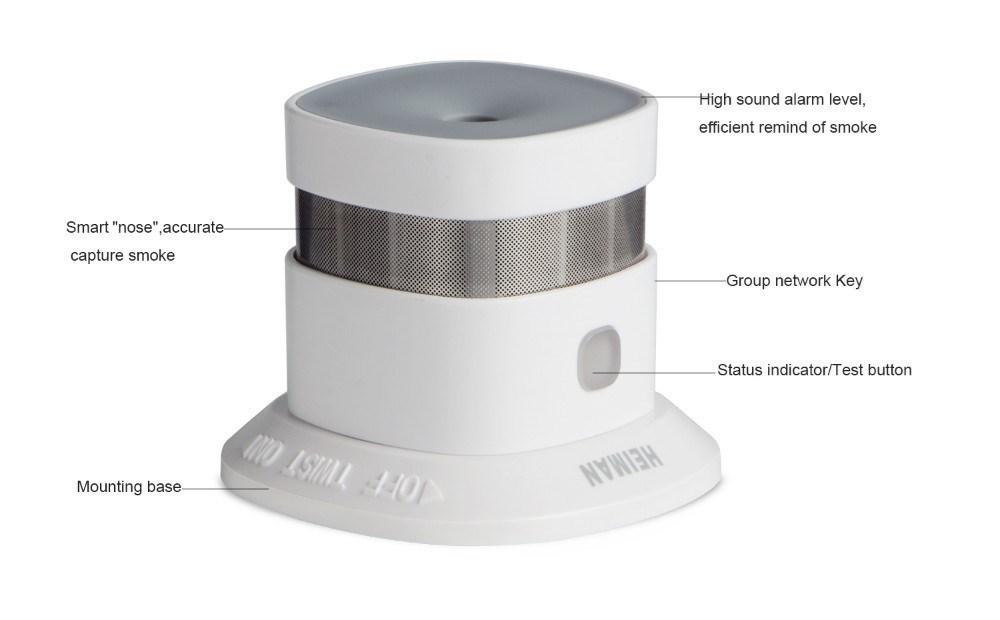 Picture of Heiman Smart Smoke Sensor