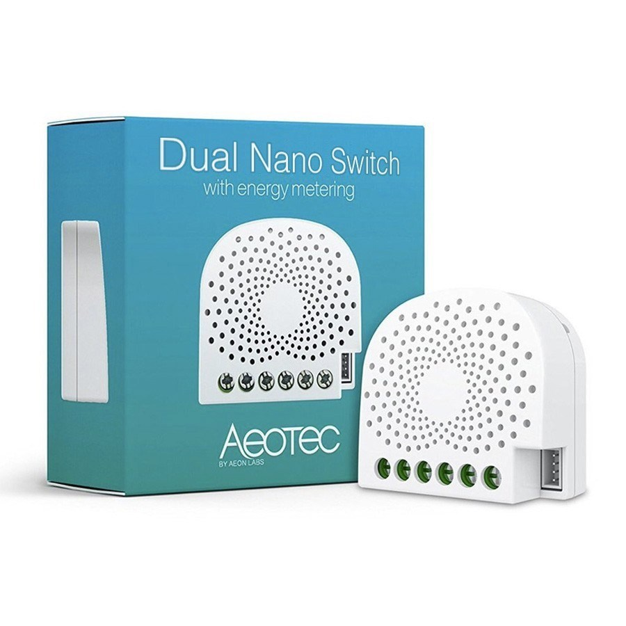 Picture of Aeotec Nano Dual Switch (With power metering)