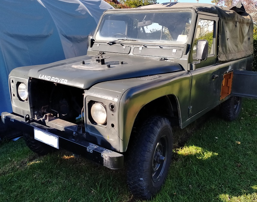 Picture of 1985 Land Rover Defender - EV Project