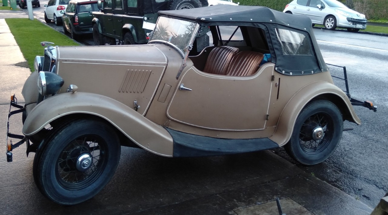 1938 Morris 8 Sport