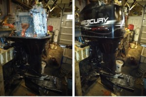 200 HP E-Outboard project